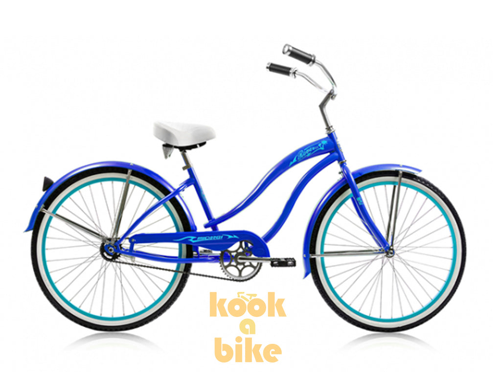"Micargi 26"" Rover GX Beach Cruiser Single-Speed Bike(Dark Blue)Womens - kookabike - 1"