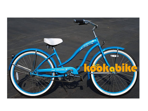 "Micargi 26"" Rover GX Beach Cruiser Single-Speed Bike(Turquoise)Womens"