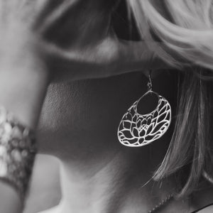 Lotus Earrings - The Story Behind the Design - Finding Peace
