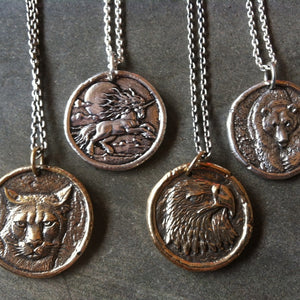 Connect to Your Power Animals by Wearing Them | Traveller's Coin Medallions