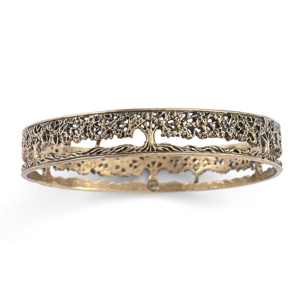Tree of Life Filigree Bangle