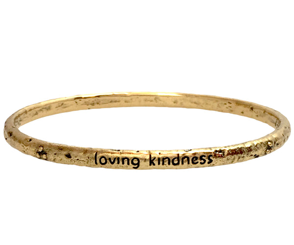 Compassion Bangle in Bronze | Handcrafted Jewelry | Made in Bali