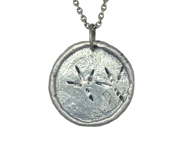 Eagle Traveller's Coin Necklace in Sterling Silver | House of Alaia | Made in Bali