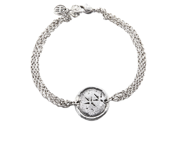 Freedom Eagle Protection Bracelet in Sterling Silver | Handcrafted Jewelry | Made in Bali | Inspirational Jewelry