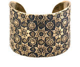 Bronze Love Cuff Bracelet | Made in Bali
