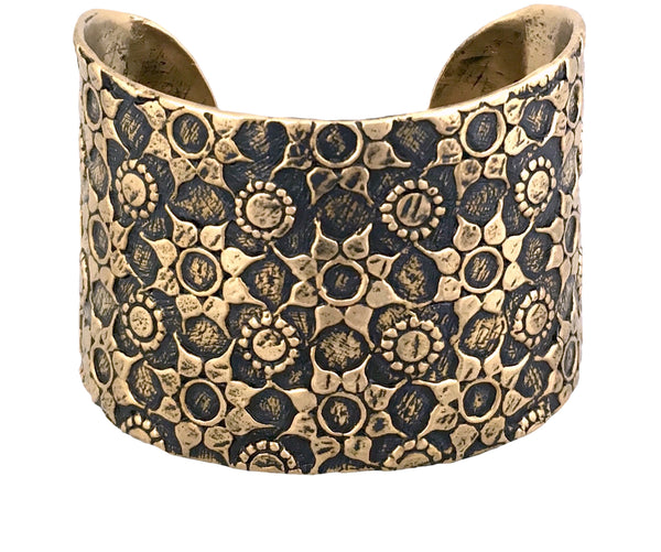 Love Goddess Cuff in Bronze