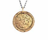 Tree of Life Traveller's Coin Necklace in Bronze | House of Alaia | Made in Bali