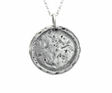 Tree of Life Traveller's Coin Necklace in Sterling Silver  | House of Alaia | Made in Bali
