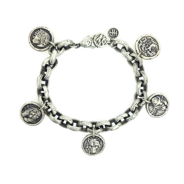 Four Directions Sacred Links Chain Bracelet