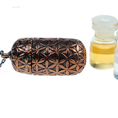 Necklaces - Flower Of Life Essential Oil Capsule