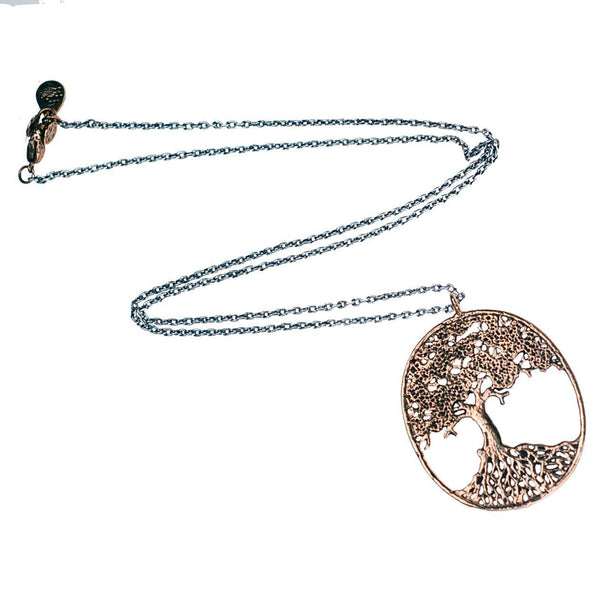 Large Tree of Life Filigree Necklace