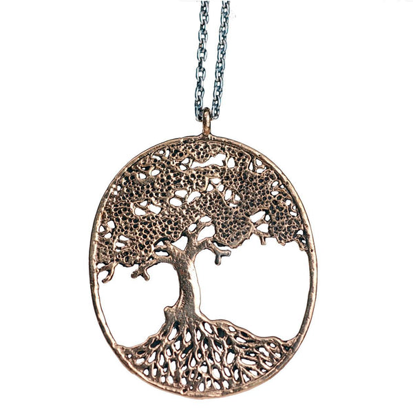 Necklaces - Large Tree Of Life Filigree Necklace