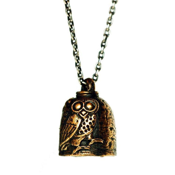 Necklaces - Owl Protection Bell