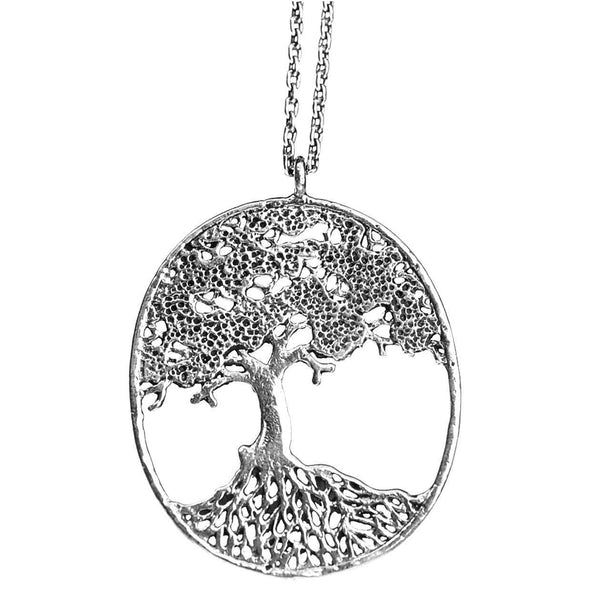 Small Tree of Life Filigree Necklace
