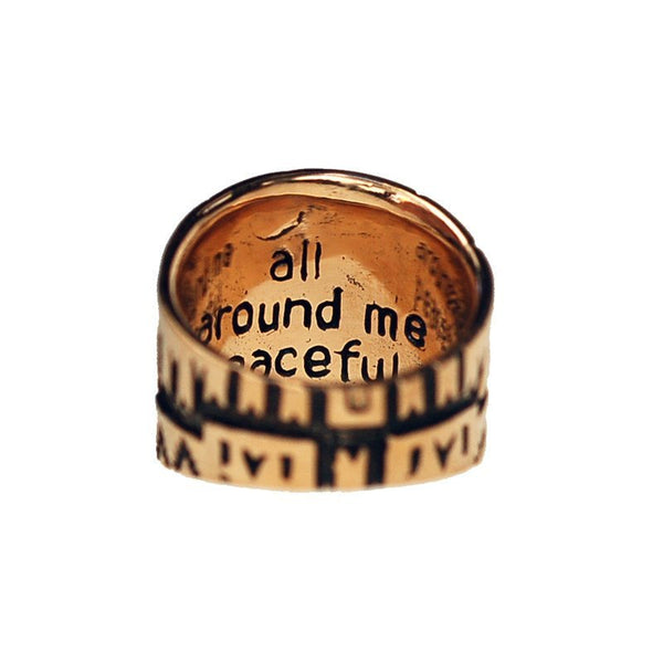 Rings - All Around Me Peaceful Saddle Ring