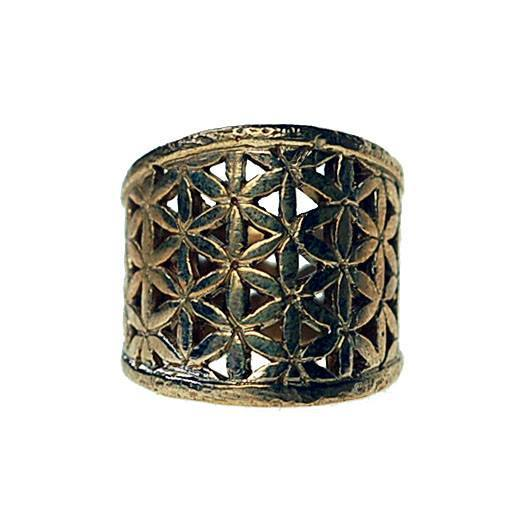Rings - Flower Of Life Saddle Ring
