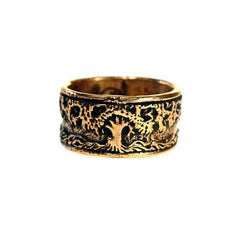 Rings - Tree Of Life Band Ring