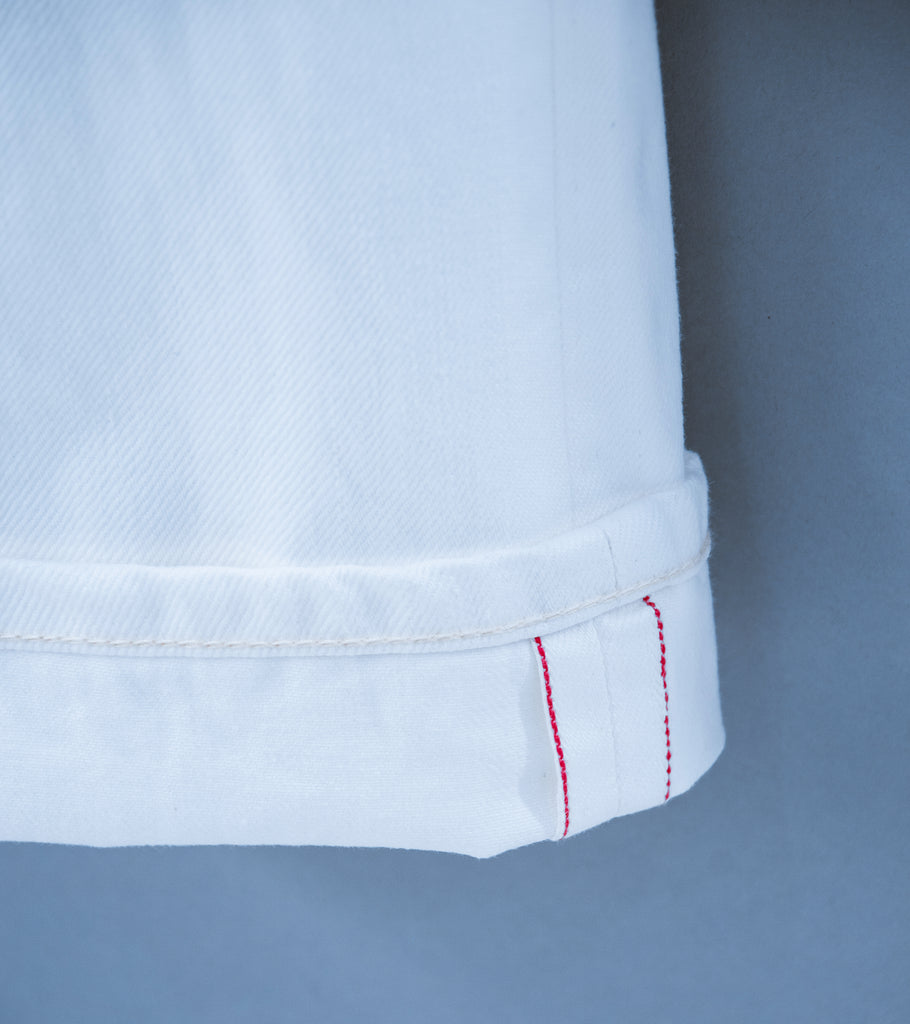 C'H'C'M' 'Jean 3' (White 14oz Raw Selvage Denim)