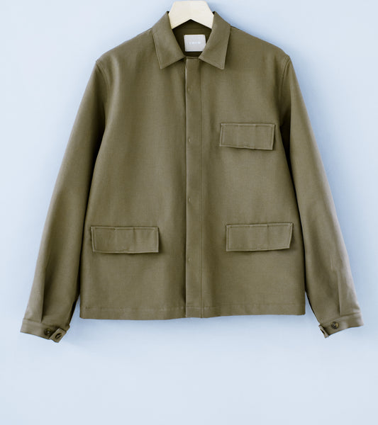 C'H'C'M' 'Three Pocket Work Jacket' (Khaki)