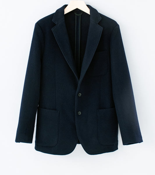 C'H'C'M' 'Heavy Wool Blazer' (Dark Navy Wool)
