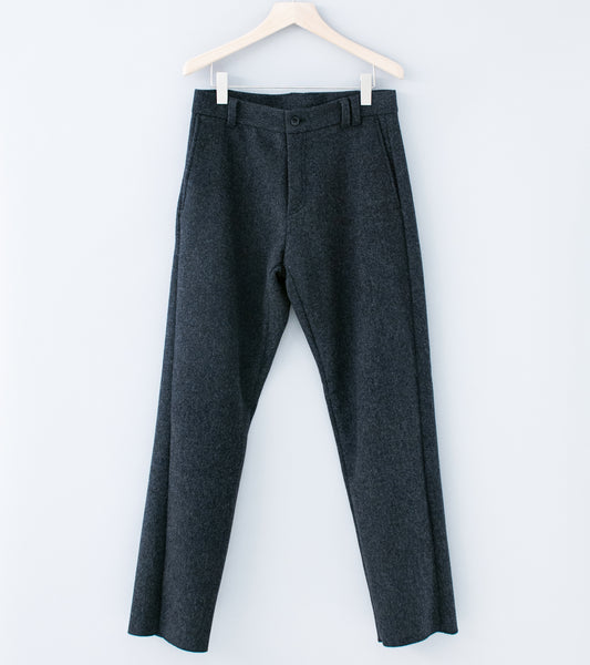 C'H'C'M' ' Heavy Wool Trousers' (Charcoal Wool)