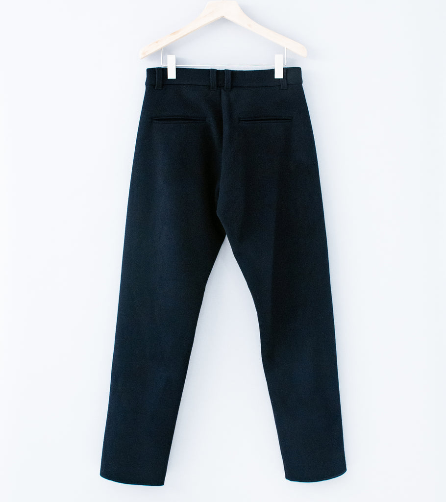 C'H'C'M' ' Heavy Wool Trousers' (Dark Navy Wool)