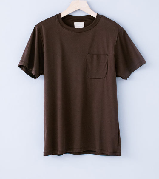 C'H'C'M' 'Pocket T-Shirt' (Dark Brown)
