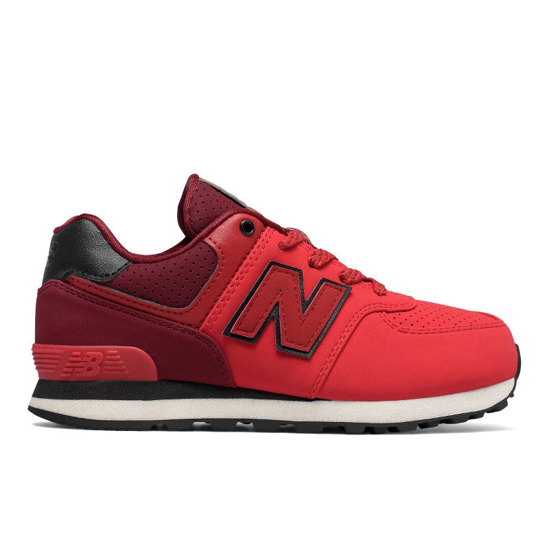 New Balance 574 Kids Red Black