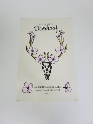 Deerhoof Poster - Nov 8 at Neurolux