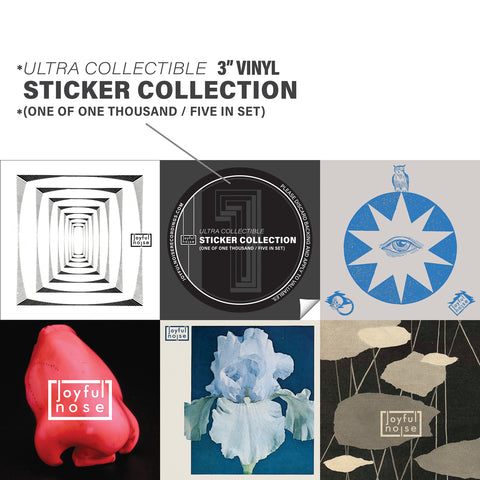 Ultra Collectible (3 inch) Vinyl Stickers