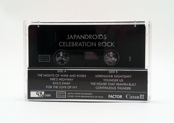 Celebration Rock - Japandroids - Joyful Noise Recordings - 3