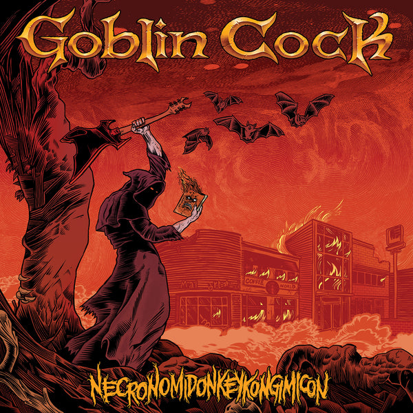 Necronomidonkeykongimicon - Goblin Cock - Joyful Noise Recordings - 1