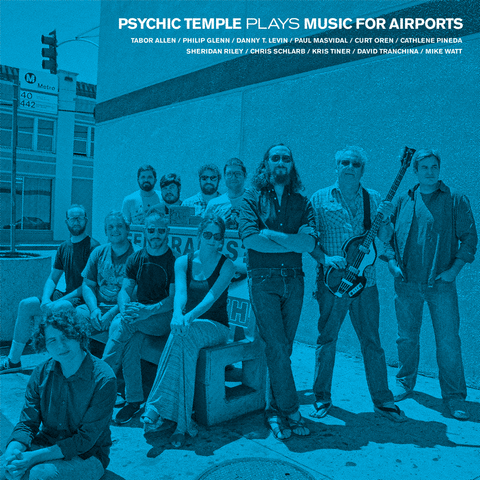 Plays Music for Airports - Psychic Temple - Joyful Noise Recordings - 1