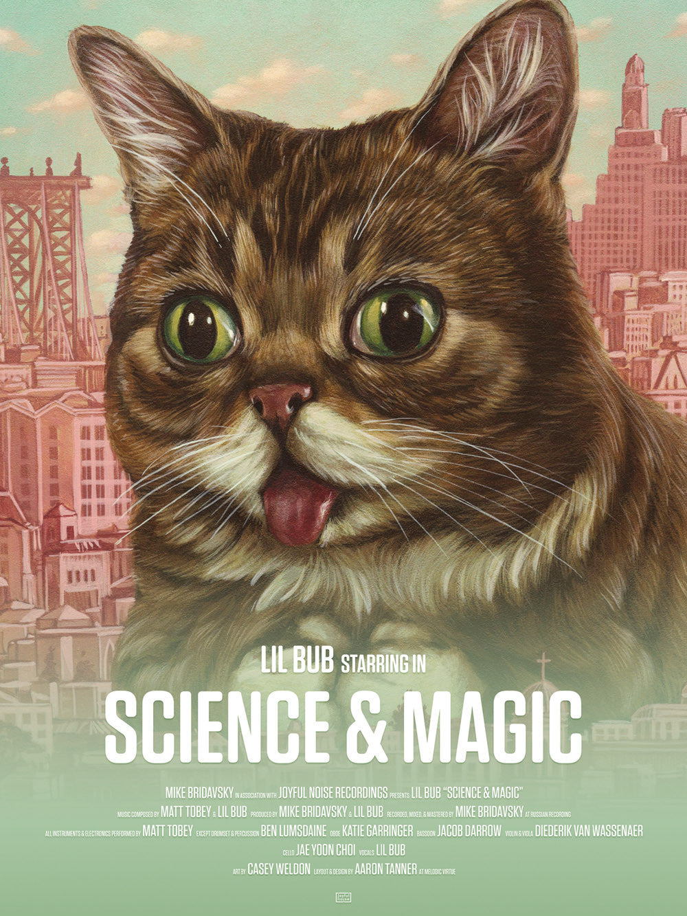 Science & Magic: A Soundtrack To The Universe - Lil BUB - Joyful Noise Recordings - 4