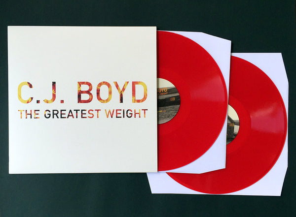 The Greatest Weight (2xLP Reissue) - CJ Boyd - Joyful Noise Recordings - 3