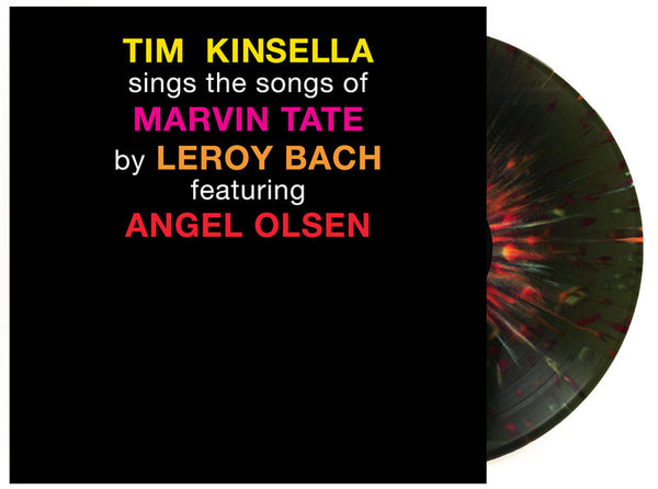 Tim Kinsella sings the songs of Marvin Tate by LeRoy Bach featuring Angel Olsen - Tim Kinsella - Joyful Noise Recordings - 3