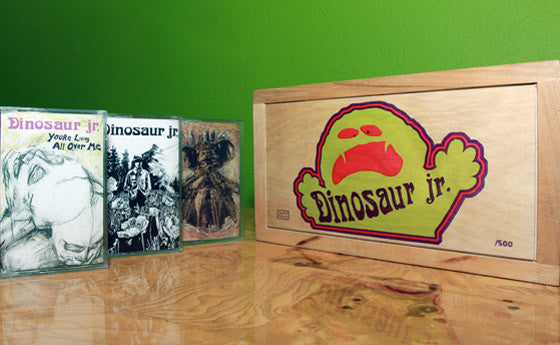 Cassette Trilogy - Dinosaur Jr. - Joyful Noise Recordings - 3