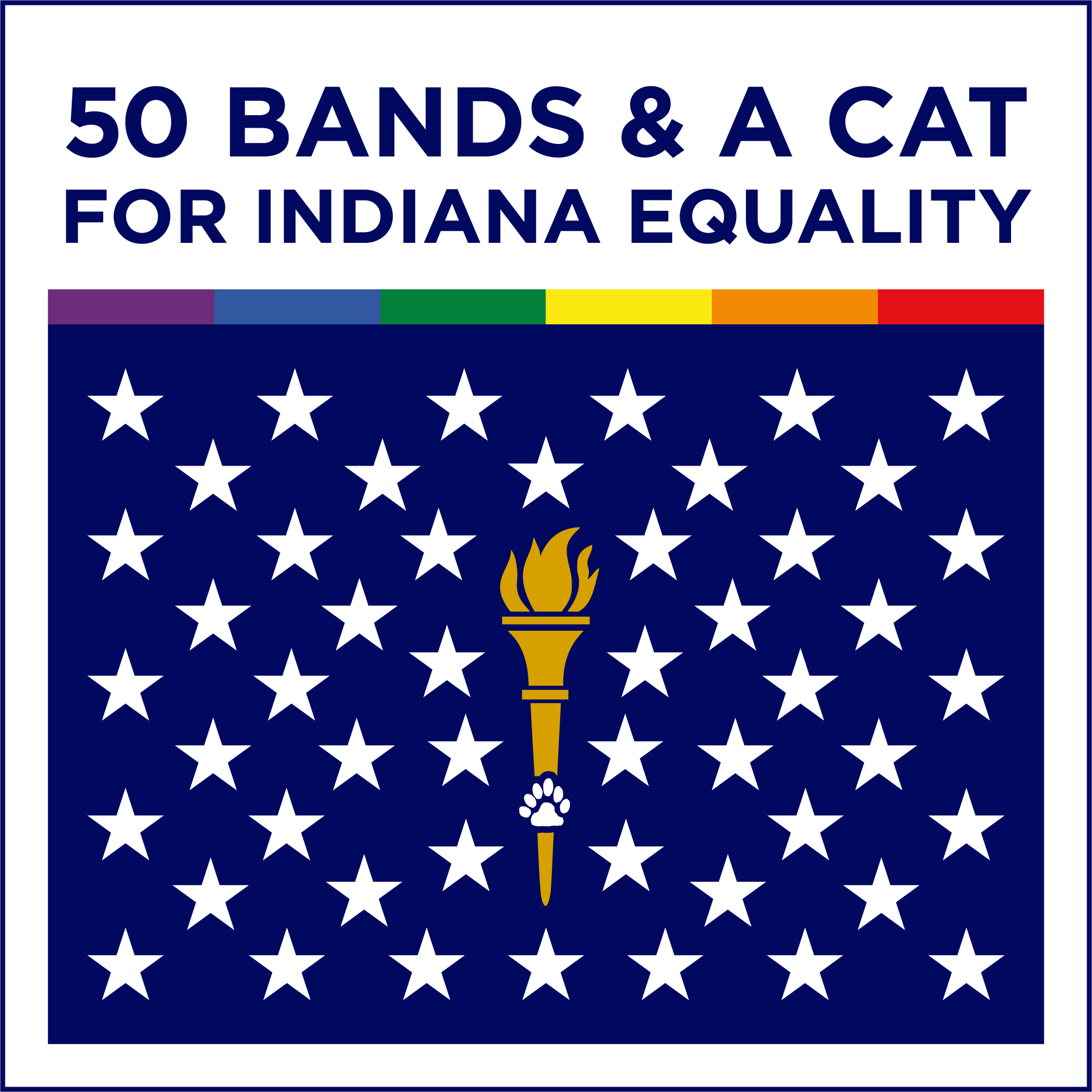 50 Bands & A Cat for Indiana Equality - Various Artists - Joyful Noise Recordings - 1