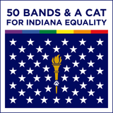 50 Bands & A Cat for Indiana Equality [PRIVATE STASH] - Various Artists - Joyful Noise Recordings - 1