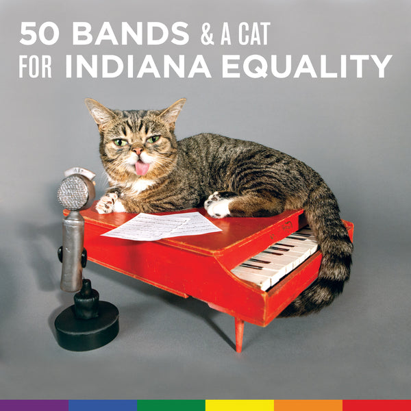 50 Bands & A Cat for Indiana Equality [PRIVATE STASH] - Various Artists - Joyful Noise Recordings - 2