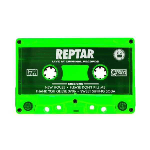 Live from Criminal Records - Reptar - Joyful Noise Recordings