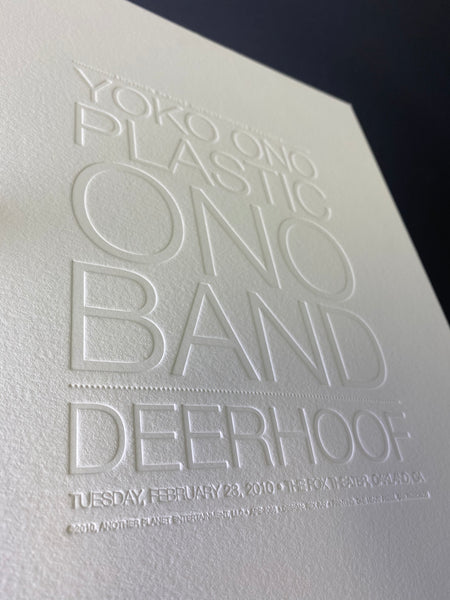Deerhoof / Yoko Ono Poster - Feb 23rd at Fox Theater