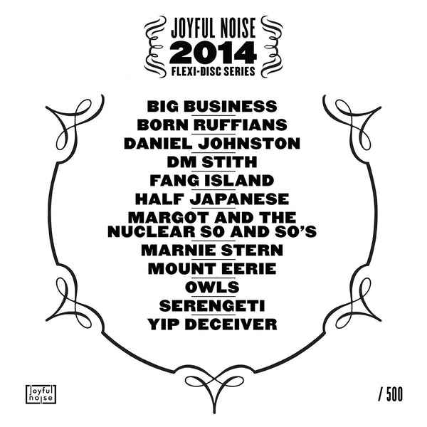 Joyful Noise 2014 Flexi-Disc Series - Various Artists - Joyful Noise Recordings - 2