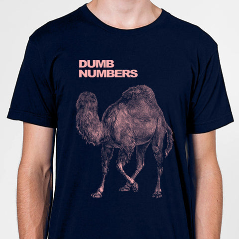 Dumb Numbers Camel T-Shirt - Dumb Numbers - Joyful Noise Recordings