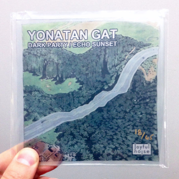 Dark Party / Echo Sunset - Yonatan Gat - Joyful Noise Recordings - 1