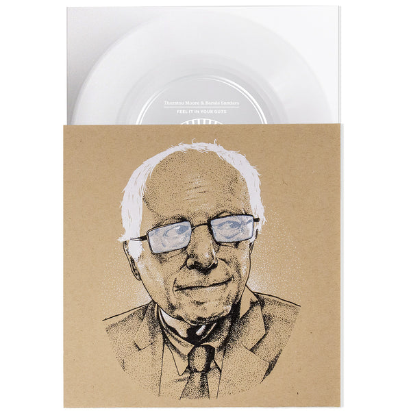 Feel It In Your Guts - Thurston Moore & Bernie Sanders - Joyful Noise Recordings - 3