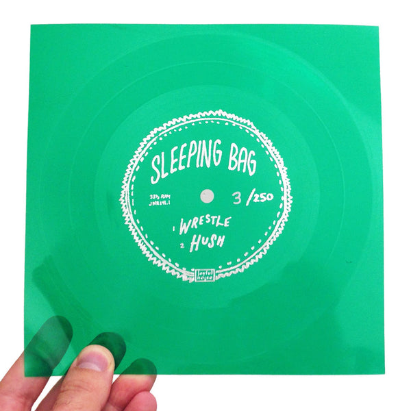 Wrestle b/w Hush [PRIVATE STASH] - Sleeping Bag - Joyful Noise Recordings