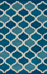 DownEast Blue Brighton Rug