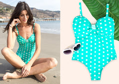 Polka-dot Swim suit