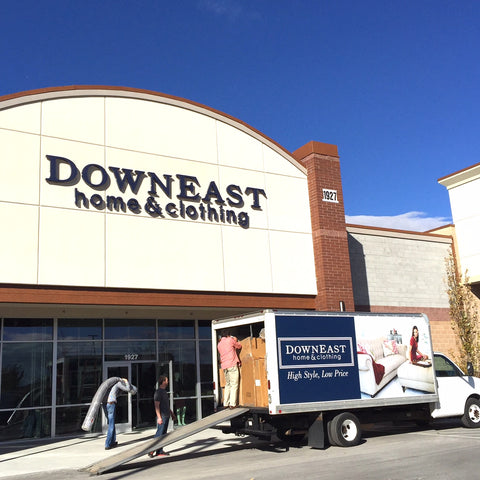 DownEast Home & Clothing - Moving Day